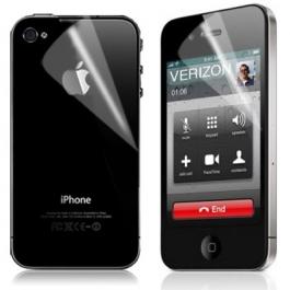 Duo protection écran et face arrière invisible iPhone 4 et 4S