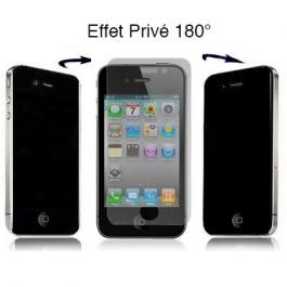 Film protection écran Privé 180° pour iPhone 4 et 4S