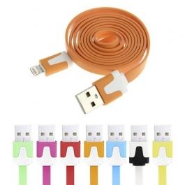 Lot de 2 câbles Lightning Noodle + 2 gratuits