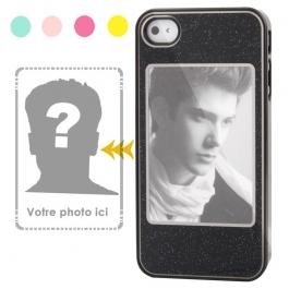 Coque iPhone 4 et 4S Cadre Photo Perso