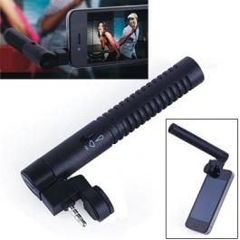 Microphone Externe iPhone couleur noir