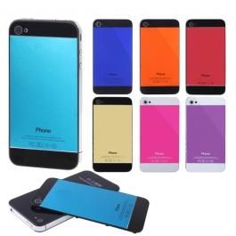 Façade arrière iPhone 4 / 4S style iPhone 5 de couleur