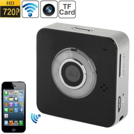 Caméra wifi iPhone couleur noir