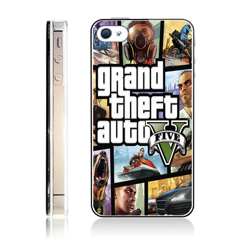 coque iphone 4 et 4s grand theft auto gta v iphony. Black Bedroom Furniture Sets. Home Design Ideas