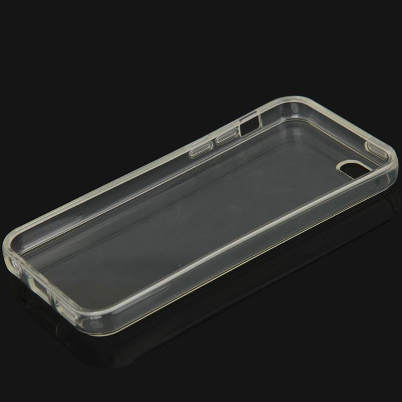 coque iphone 5c semi transparente en silicone iphony. Black Bedroom Furniture Sets. Home Design Ideas