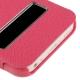 Housse à rabat iPhone 5C couleur magenta