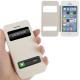 Housse à rabat iPhone 5C couleur blanc