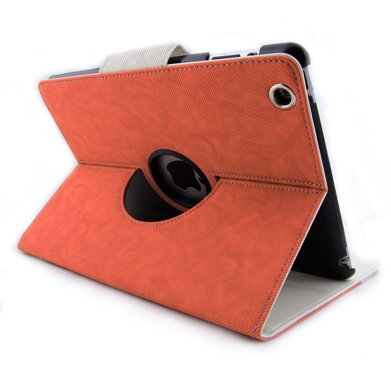 Housse ipad 2 3 4 avec support en cuir mobile store for Housse protection ipad 2