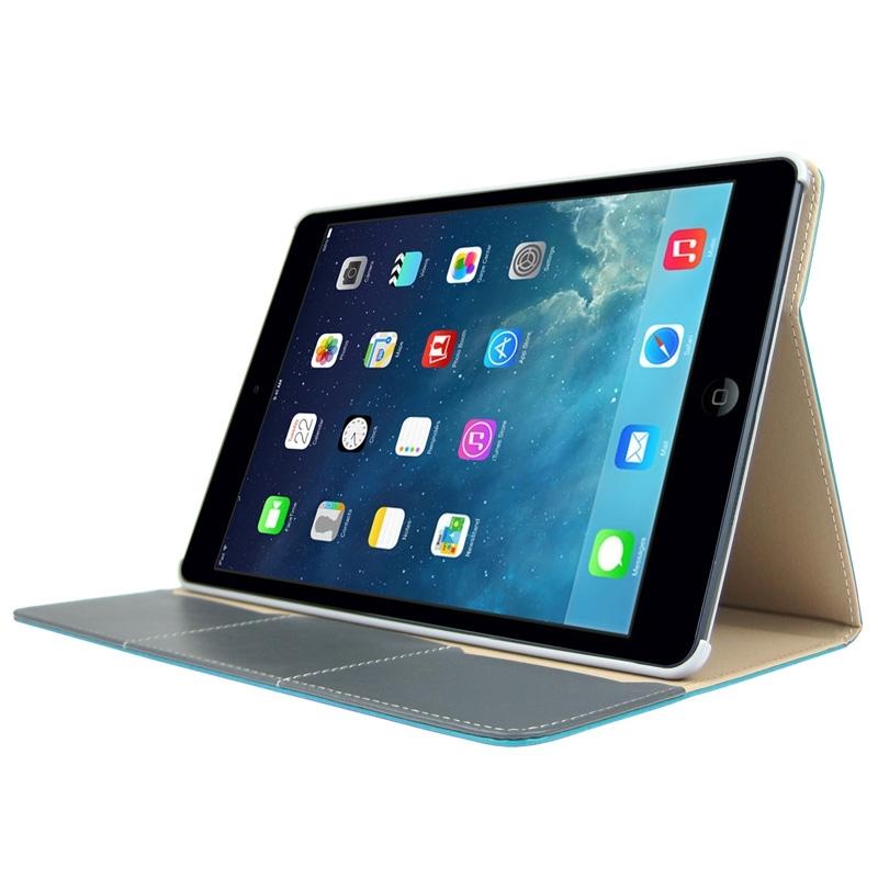 etui ipad air en cuir avec porte cartes mobile store. Black Bedroom Furniture Sets. Home Design Ideas