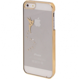 Coque fée clochette transparente iPhone 5/5S