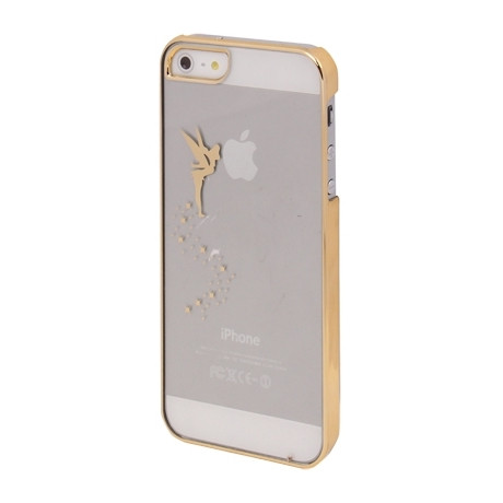 coque f e clochette transparente iphone 5 5s iphony. Black Bedroom Furniture Sets. Home Design Ideas