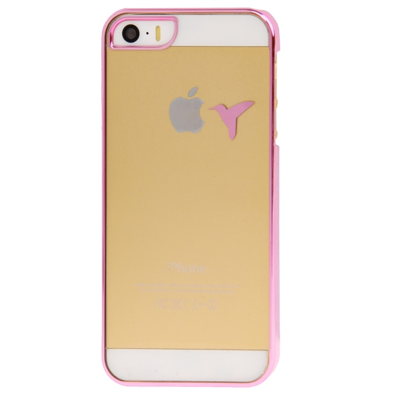 coque iphone 5 5s transparente oiseau mobile store. Black Bedroom Furniture Sets. Home Design Ideas