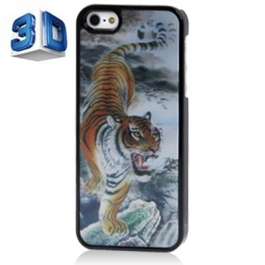Coque Tigre 3D iPhone 5/5S