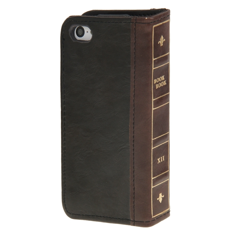 Housse en cuir design livre iphone 5 5s iphony for Housse iphone 5s