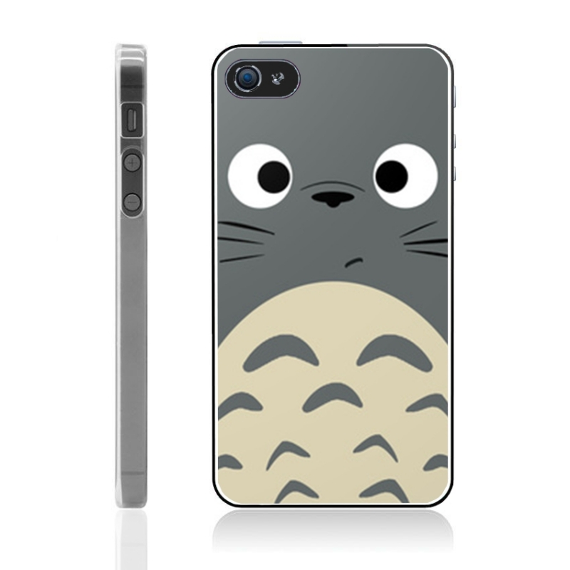 coque iphone 4 et 4s totoro iphony. Black Bedroom Furniture Sets. Home Design Ideas