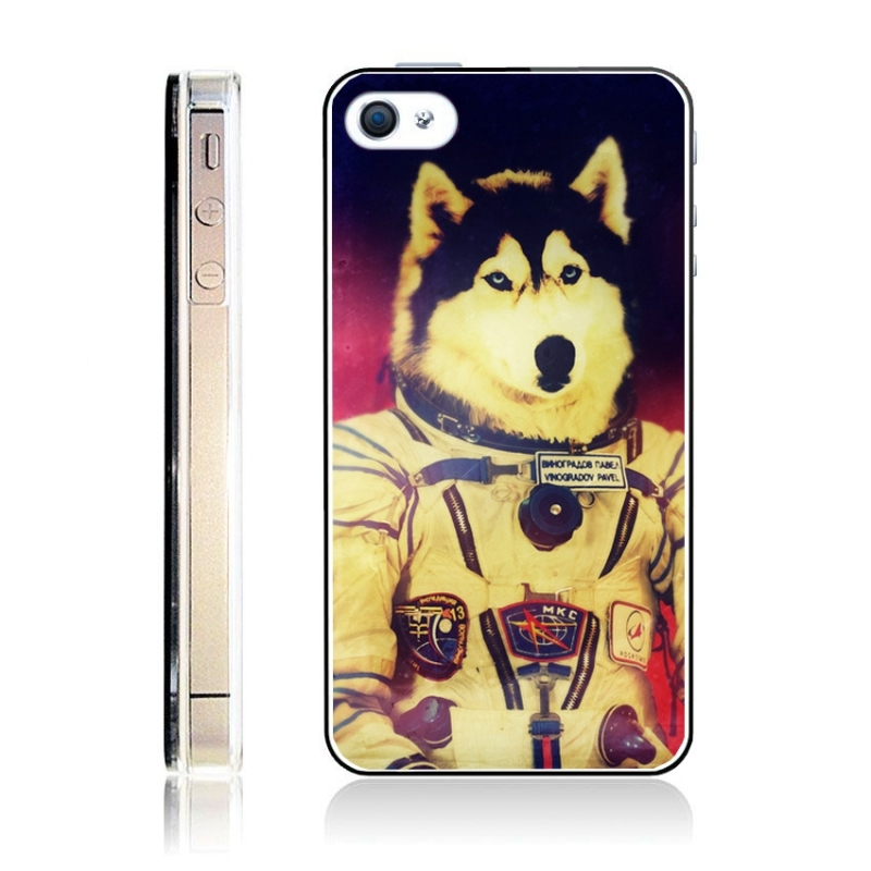 coque iphone 4 et 4s animaux astronautes iphony. Black Bedroom Furniture Sets. Home Design Ideas