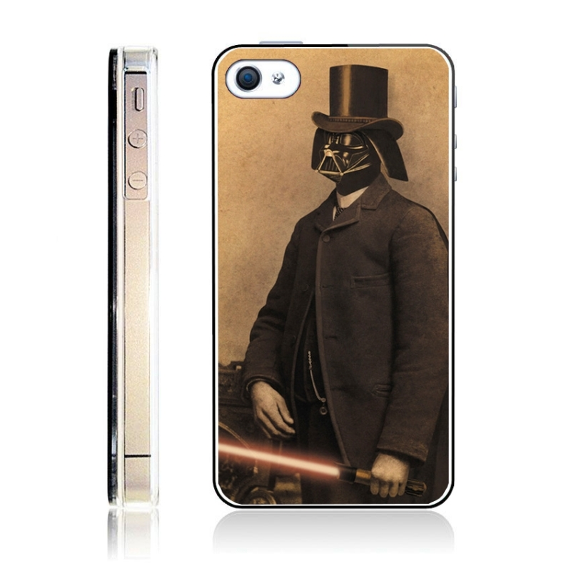 coque iphone 4 et 4s star wars vintage iphony. Black Bedroom Furniture Sets. Home Design Ideas