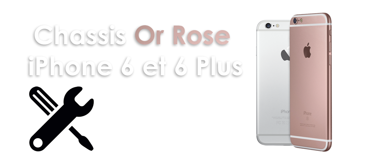 chassis iPhone 6S rose gold