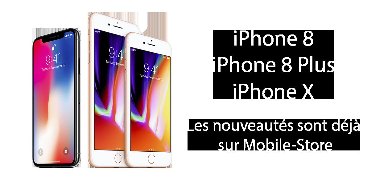 accessoires iPhone 8 et iPhone X