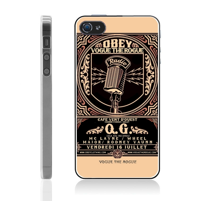 coque iphone 5 5s obey vintage