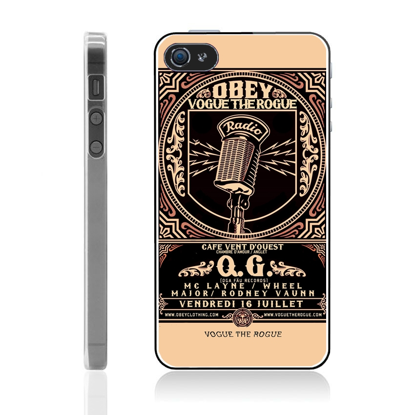Coque iPhone 5 et 5S Obey vintage - Mobile-Store