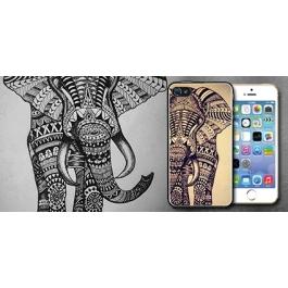 Coque iPhone 5 et 5S éléphant aztèque