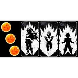 Coque iPhone 4 et 4s Dragon Ball Z - Supers Saiyans