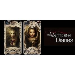 Coque iPhone 4 et 4s The Vampire Diaries - Caroline & Bonnie