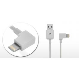 Câble Lightning coudé iPhone / iPad