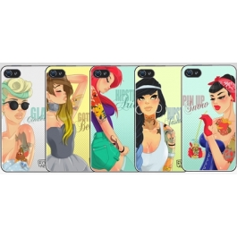 Coque iPhone 4 et 4s Princesses Disney Modernes