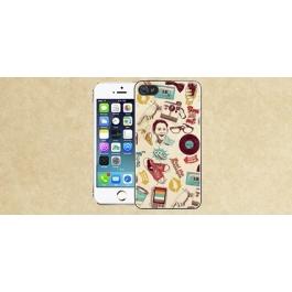 Coque iPhone 4 et 4S papier peint vintage