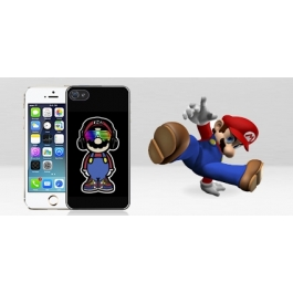 Coque iPhone 4 et 4S Mario Swag