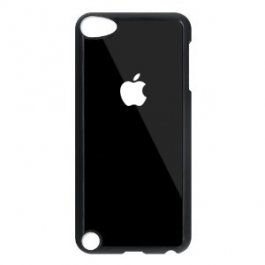 Coque iPod Touch 5G logo Apple - Noir