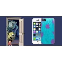Coque iPhone 4 et 4S Monstres et Cie Fourrure