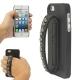 Coque de protection avec bracelet en cuir pour iPhone 5