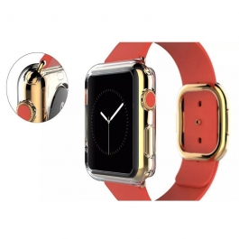 Coque silicone transparente Apple Watch 38mm