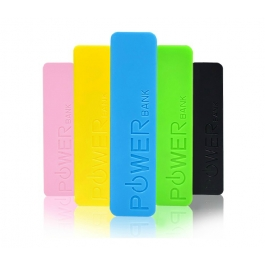 Batterie externe Power Bank Color Stick 2600 mAh