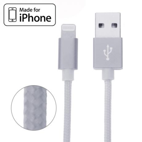 Câble Lightning renforcé certifié Made for iPhone