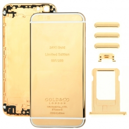 Chassis iPhone 6 Or / Gold 24k avec boutons