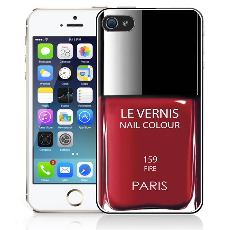 Coque Vernis Paris iPhone 5 / 5S - Mobile-Store