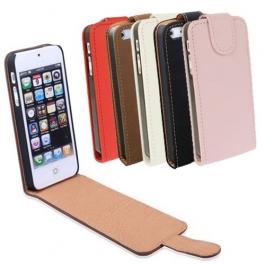 Etui de protection en cuir pour iPhone 5 (couleur au choix)