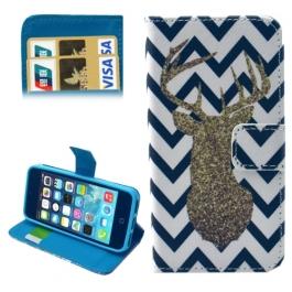 Housse iPhone 5 / 5S / SE porte-cartes intégré