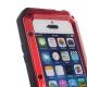 Coque iPhone waterproof anti-choc 5 / 5S / SE - Rouge