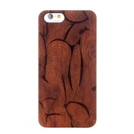 Coque Iphone 6 / 6S en bois motif abstrait