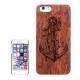 coque Iphone 6 / 6S en bois motif Ancre marine