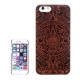 Coque Iphone 6 / 6S en bois motif Azteque