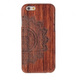coque Iphone 6 / 6S uniquement bois motif Mandala