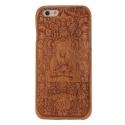 Coque Iphone 6 / 6S bois motif Buddha