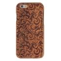 Coque Iphone 6 / 6S bois motif floral