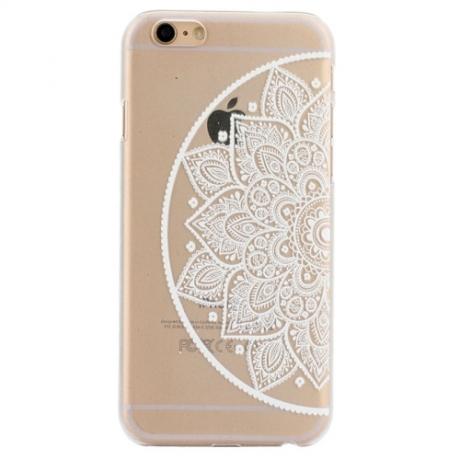 iphone 6 coque transparente mandala
